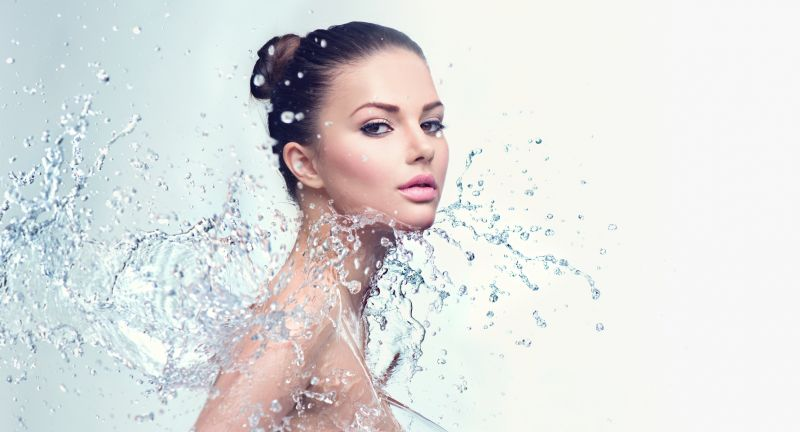 woman, spa, water, splash, shower, skincare, freshness, moisture, skin, care, drops, fashion, splashing, face, bodycare, beauty, model, background, wash, white, clean, wellness, people, female, moisturizing, girl, body, fall, relax, moisturizer, health, brunette, pouring, wet, moisturize, stream, treatment, caucasian, lifestyle, healthy, young, pleasure, blue, person, pure, sensuality, beautiful, hygiene, fresh, relaxation