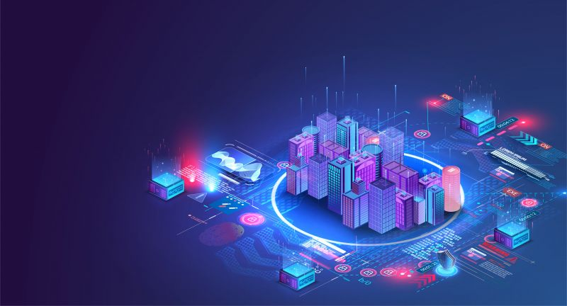 city, isometric, building, blockchain, 3d, smart, data, flat, future, futuristic, iot, cloud, platform, automation, connect, management, system, concept, facility, home, intelligent, technology, vector, computer, control, digital, energy, online, block chain, abstract, architecture, background, business, cityscape, design, district, house, icon, illustration, infographic, information, infrastructure, innovation, internet, alternative